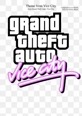 Grand Theft Auto V Logo - Grand Theft Auto: Vice City Soundtrack Logo Lex Horton PNG