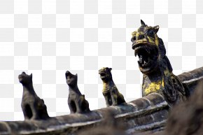 Row Of Animals Sitting In The Row - Puppy Kitten Dog PNG