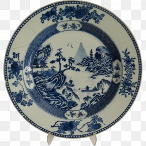 Chinoiserie - Tableware Porcelain Plate Platter Ceramic PNG