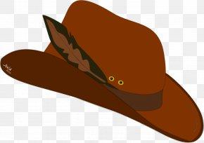 Cowboy Hat - American Frontier Cowboy Hat Cartoon Cowboy Boot PNG