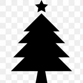 Star Christmas Tree - Christmas Tree Symbol Santa Claus PNG
