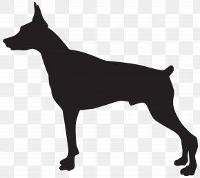 Dog Cliparts Transparent - Dobermann Rottweiler German Shepherd Pit Bull German Pinscher PNG