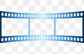 Frame Bending Free Button Vector Material - Photographic Film Cinema Film Frame PNG