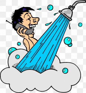 Back Cliparts Shower - Shower Bathtub Bathroom Royalty-free Clip Art PNG