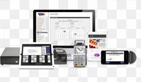 Pos Terminal - Telephony Communication Electronics Output Device PNG