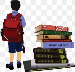 Child Side Of The Book - Student School Royalty-free Clip Art PNG