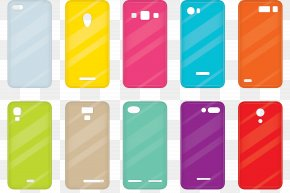 Solid Phone Case - Euclidean Vector Illustration PNG