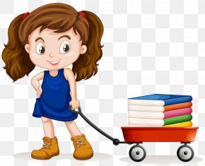 Children And Books - Wagon Stock Photography Royalty-free Clip Art PNG
