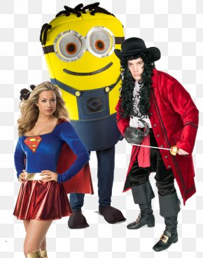 Couple Costume - Costume Party Halloween Costume Dress PNG