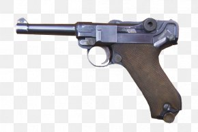 Luger Pistol - Second World War Luger Pistol Firearm Gun Barrel PNG