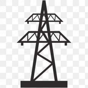 Solar Power Tower Electricity Electric Utility Electrical Grid PNG