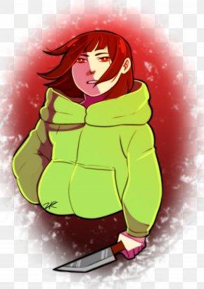 Chara Storyshift - Undertale Cartoon Illustration Image Fan Art PNG