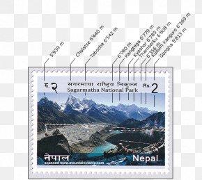 Nepal Mountain - Mount Everest Gokyo Ri Khumbu National Park Mountain PNG