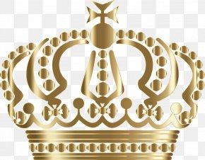 Crown Metallic Gradient - Crown T-shirt PNG