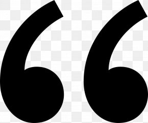Quotation - Quotation Mark Punctuation PNG