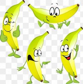 Banana - Banana Cartoon Stock Photography PNG