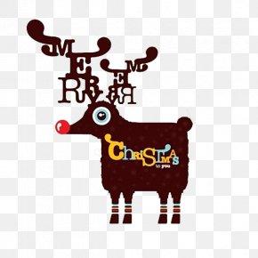 Christmas Deer Cute Style - Christmas Card Greeting Card Creativity PNG