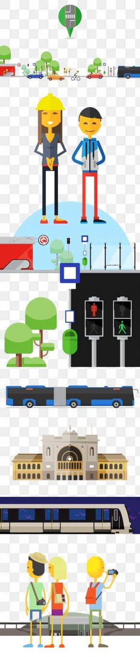 Flat Cartoon Web Design - Web Design World Wide Web PNG