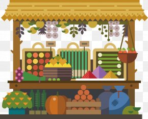 Travel Icon Creative Design - Fruit Marketplace Royalty-free Illustration PNG