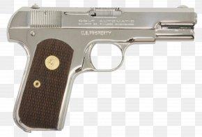 Colt - Trigger Firearm Colt Model 1903 Pocket Hammerless Automatic Colt Pistol .32 ACP PNG