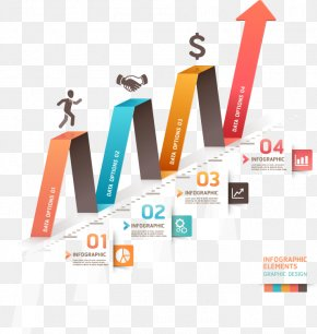 FIG Arrow Fluctuations - Infographic Diagram Business Template PNG