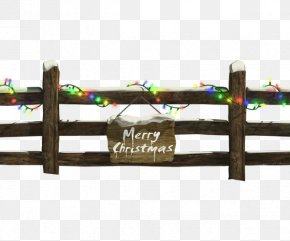 Christmas Lights Fence Material - Christmas Lights Fence Clip Art PNG