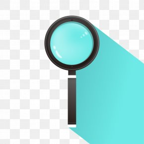 Exquisite Black Magnifying Glass Vector Material - Magnifying Glass Euclidean Vector PNG