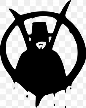 V For Vendetta - V For Vendetta Guy Fawkes Mask Drawing Clip Art PNG