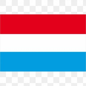 Kate Mara - Flag Of Luxembourg Aqua Rectangle PNG