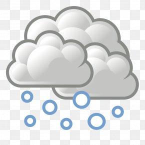 Snowfall Cliparts - Snowflake Cloud Clip Art PNG