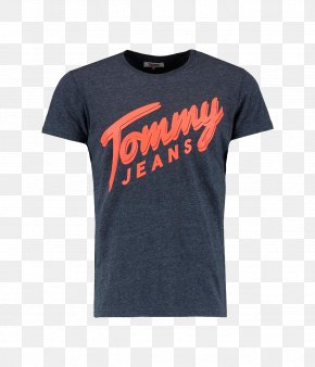 T-shirt - T-shirt Hoodie Tommy Hilfiger Crew Neck Sleeve PNG