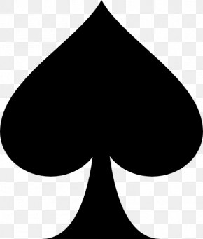 Ace - Ace Of Spades Playing Card Clip Art PNG