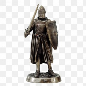 Knight - Middle Ages Knight Statue Swordsmanship Crusades PNG