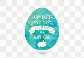 Easter Egg Vector Water - Easter Bunny Easter Egg Illustration PNG