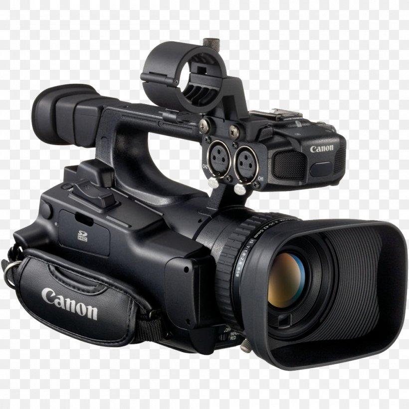 Canon Professional Video Camera Camcorder, PNG, 1000x1000px, Video Cameras, Active Pixel Sensor, Camera, Camera Accessory, Camera Lens Download Free