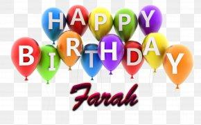 Farah - Birthday Cake Happy Birthday Greeting & Note Cards Wish PNG