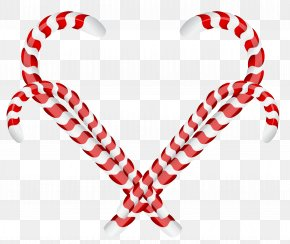 Candy Cane Christmas Ornament Clipart - Candy Cane Stick Candy Peppermint PNG