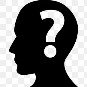 Question - Human Head Question Human Body Clip Art PNG