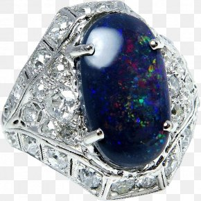 Exquisite Pattern - Jewellery Ring Gemstone Opal Diamond PNG
