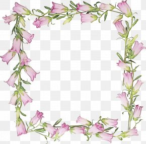 Petal Picture Frame - Bouquet Of Flowers Drawing PNG