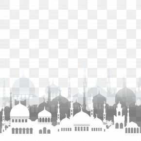 Islamic Mosque Vector Architecture - Islam Ramadan Mosque Illustration PNG