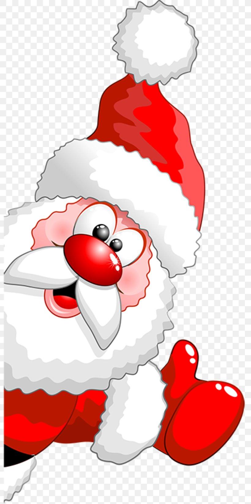 Santa Claus Reindeer Cartoon Christmas