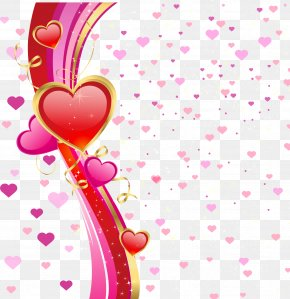 Valentine Hearts Background Free Vector - Valentine's Day Euclidean Vector PNG