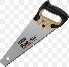 Hand Saw Image - Hand Saw Stanley Hand Tools Blade PNG