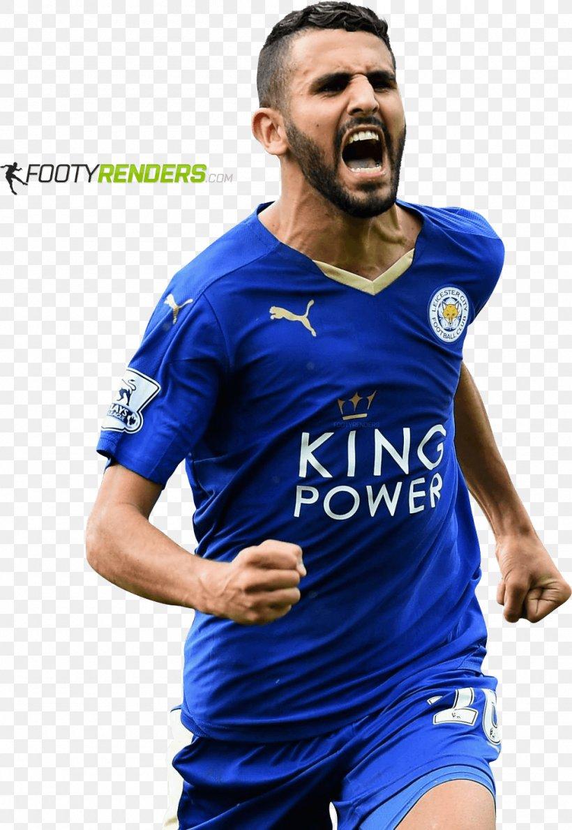 Riyad Mahrez Leicester City F C Premier League Football Player Sport Png 1000x1452px Riyad Mahrez Blue Clothing