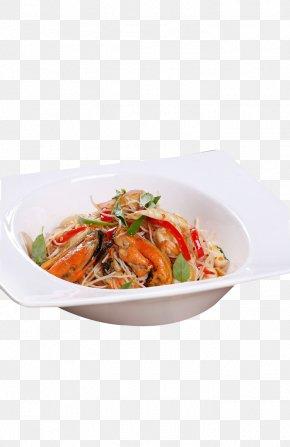 Thai Seafood Fried Rice Noodles - Thai Cuisine Seafood Japanese Cuisine Caridea Rice Noodles PNG