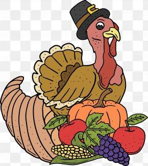 Thanksgiving Turkey And Pumpkin - Turkey Thanksgiving Pumpkin Clip Art PNG