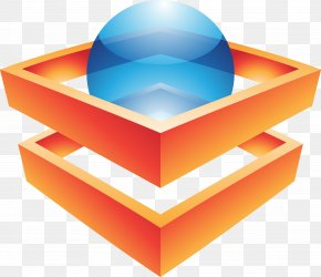 Orange Cube Graphics - Royalty-free Logo Icon PNG