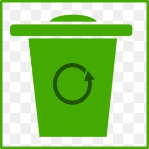 Trash Border Cliparts - Waste Container Clip Art PNG