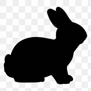 Rabbit - Easter Bunny Rabbit Silhouette Clip Art PNG